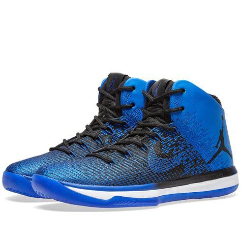 Nike Air Jordan Xxxi Black And Game Royal End