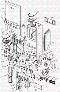 Ideal Independent C24 Appliance Diagram  Boiler Exploded
