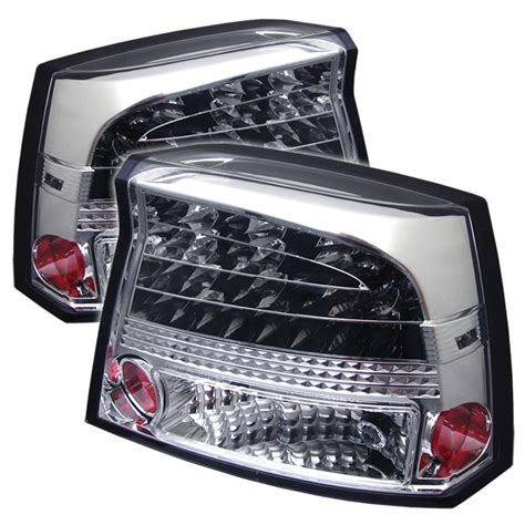 2007 dodge charger tail lights 2006 2008 dodge charger led chrome tail lights