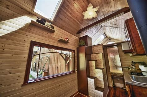 Yan's Tiny Tack House based on Tumbleweed Fencl: Open House