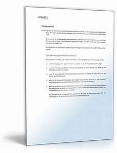 Untermietvertrag Kündigung Muster : k ndigung freier mitarbeiter muster zum download ~ Frokenaadalensverden.com Haus und Dekorationen