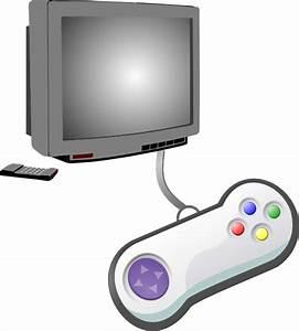 Play Videogames clip art - vector clip art online, royalty ...