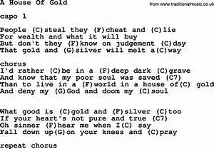 House Gold Ukulele Chords