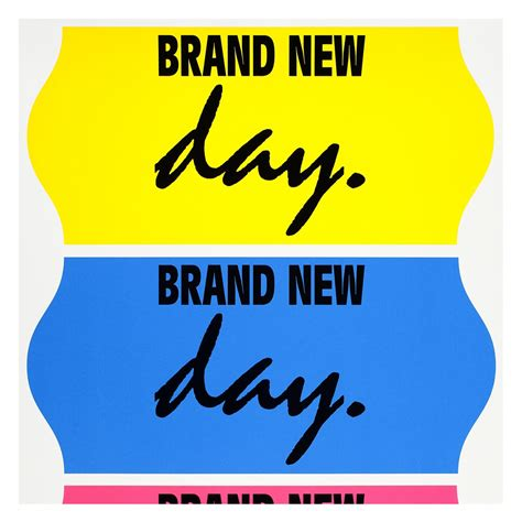 Brand New Day Print  Fonts In Use