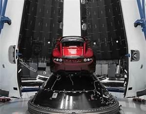 Tesla Dans Lespace : la tesla roadster rouge d 39 elon musk pr te pour aller dans l 39 espace sciencepost ~ Nature-et-papiers.com Idées de Décoration