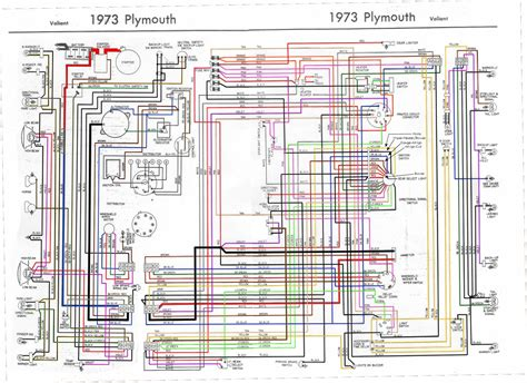 Wiring Diagram 1973 Plymouth Duster by A Instrument Cluster Confusion Moparts Question And