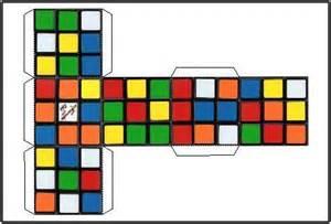 Paper Rubik's Cube Printable