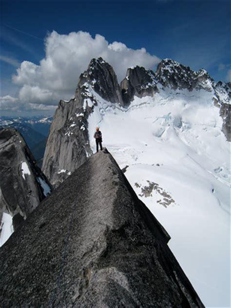 alpine rock climbing   bugaboos