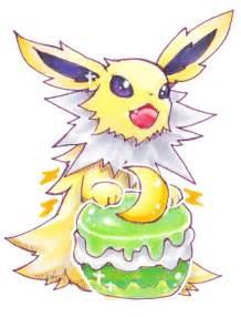 Cute Jolteon and Flareon Vaporeon Pokemon
