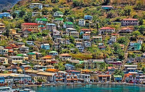 acrylic wall pictures st georges harbor grenada photograph by don schwartz