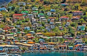 St Georges Harbor Grenada Photograph by Don Schwartz