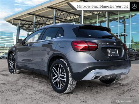 Advanced safety features, luxury interior design, and more awaits you within this premium suv. New 2020 Mercedes Benz GLA 250 4MATIC - Navigation SUV in Edmonton, Alberta