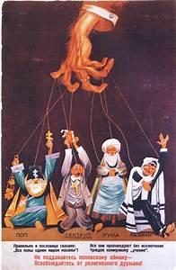 Brutal Soviet Antireligious Propaganda