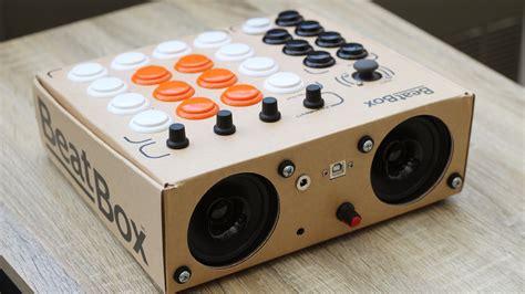 beatbox  rhythmo diy cardboard midi controller kit