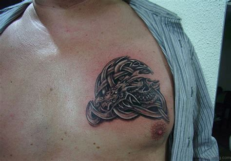 cool celtic tattoos  chest