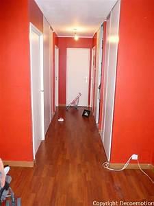 un nouveau salon parisien completement metamorphose With couleur pour un couloir 1 une entree et un couloir contrastes home by marie