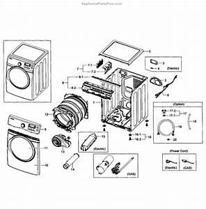 Parts For Samsung Dv431aep  Xaa-0002  Main Assy Parts