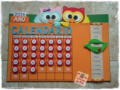 Calendário Corujinhas no Elo7 Oficina da Pink (39B6F7