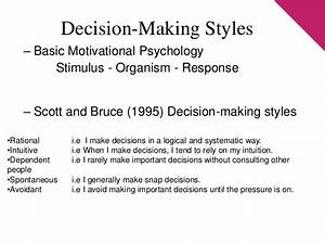 Fundamentals Of Decision Making