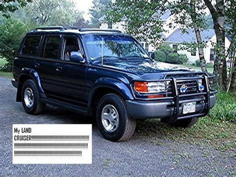 Toyota Land Cruiser Modification by Cardicted12889 1996 Toyota Land Cruiser Specs Photos