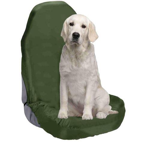 housse plastique siege auto housse de siège de voiture imperméable kaki pour chien sale
