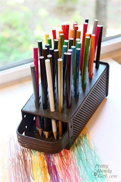 school  awesome diy pencil holder designs