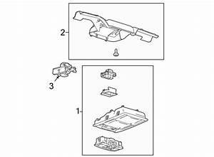 Ford F-150 Console Bracket  W  Storage