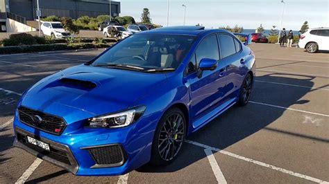 2018 Subaru Wrx Sti Spec R Improvements Best Sti Ever Made