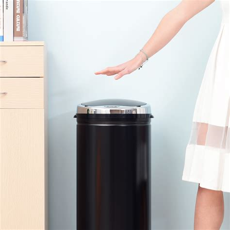 stainless steel automatic sensor dustbin rubbish waste bin kitchen trash can new ebay