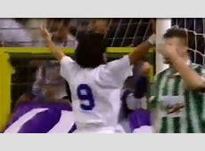 Los 4 goles de Zamorano en la Champions con el Madrid AScom