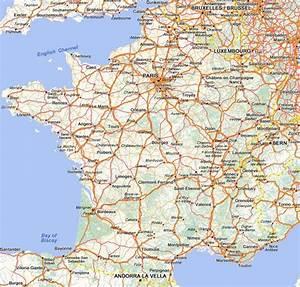 Reseau Autoroute France : carte routiere carte des routes de france calcul d 39 itin raire avec ou sans p age ~ Medecine-chirurgie-esthetiques.com Avis de Voitures