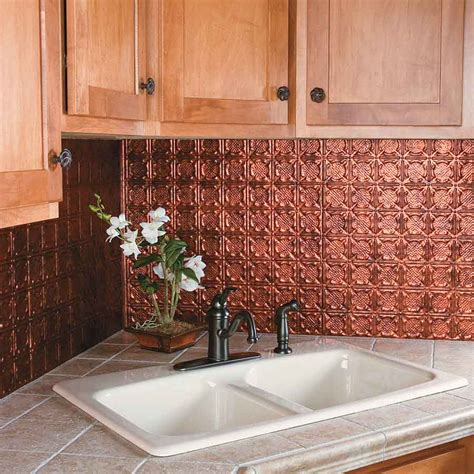 backsplash panels kitchen kitchen dining metal frenzy in kitchen copper backsplash ideas stylishoms com kitchen