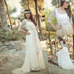 plus size bohemian wedding dresses plus size hippie wedding dresses fashion 2017