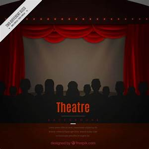 Actor clipart stage background for Theatre curtains psd