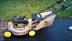 John Deere Lawn Mower Model 14sb