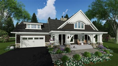 craftsman style house plan  beds  baths  sqft plan   houseplanscom