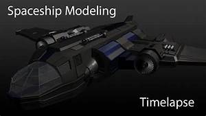 Maya - Spaceship Modelling Timelapse - YouTube
