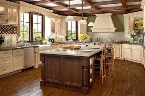 Kitchen With Glazed Cabinets On Pinterest