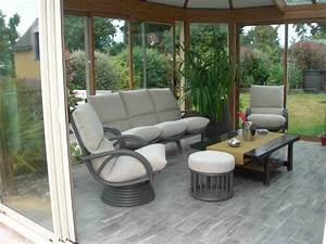 Salon De Veranda : les meubles de veranda exodia home design tables ceramique canapes salons tissu et cuir ~ Teatrodelosmanantiales.com Idées de Décoration