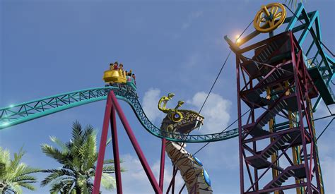 busch gardens new roller coaster analysis of cobra s curse new for 2016 at busch gardens