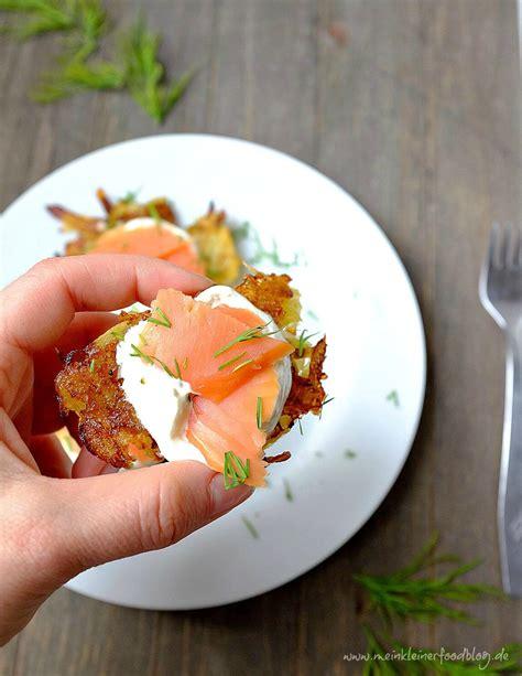 Kartoffelrösti Mit Meerrettichschmand Und Geräuchertem