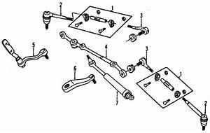 Chevrolet S10 Blazer Rod Kit  Steering Lnkg Outer Tie  Steering Tie Rod End