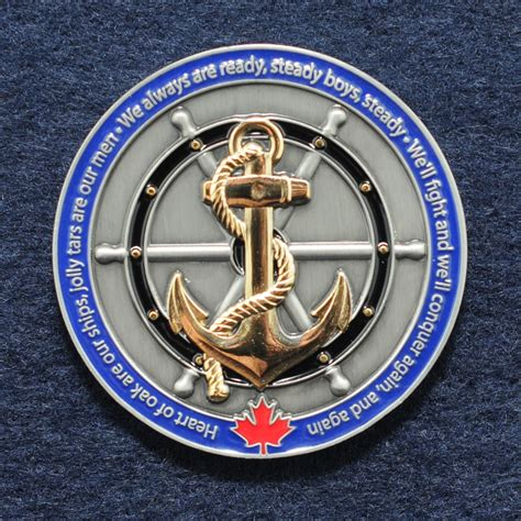 Royal Canadian Navy | Challengecoins.ca