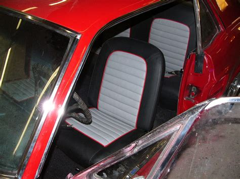 ford mustang  seats  door panels upholstery