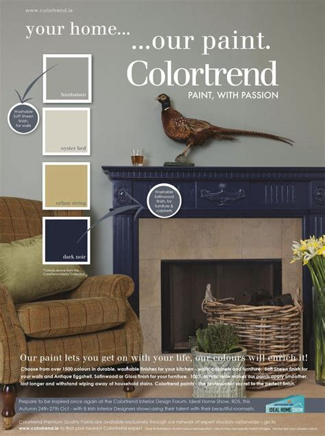 pin  colourtrend paints  inspiring ads