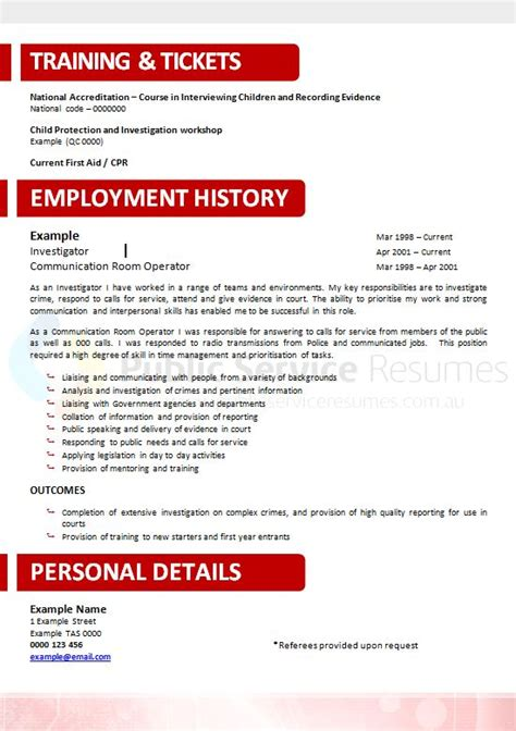 Government Resume Writers Sydney by Neuroscience Government Resume 187 And Sector Resume