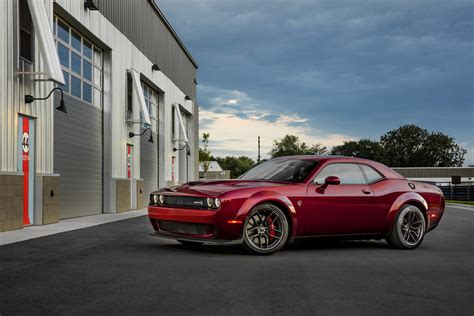 Dodge Hellcat Price by Dodge Launches Widebody Option For 2018 Challenger Hellcat