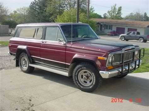 jeep chief 1979 purchase used 1979 jeep cherokee chief in buckeye arizona