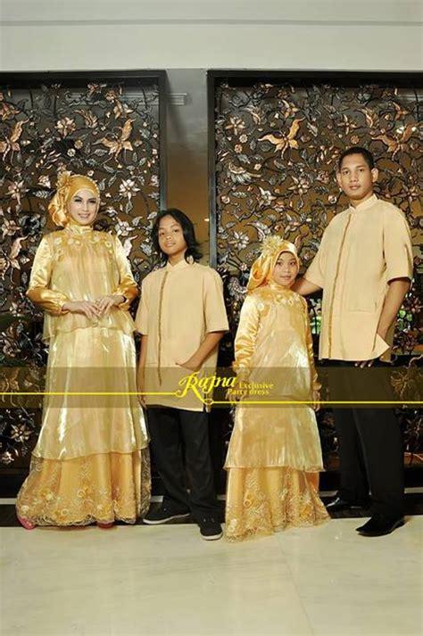 baju hugo anak pusat busana gaun pesta muslim modern sarimbit rj 12 gold