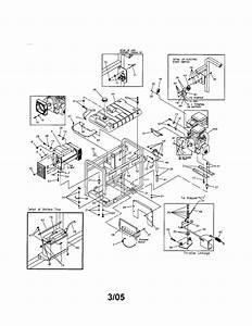 580 328310 Craftsman 10000 Watt Electric Start Ac Generator